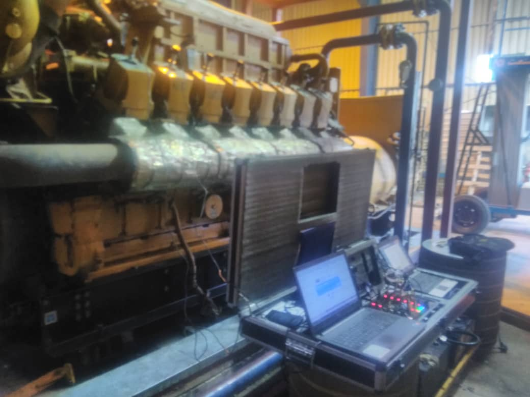 digital barometer and caterpillar generator