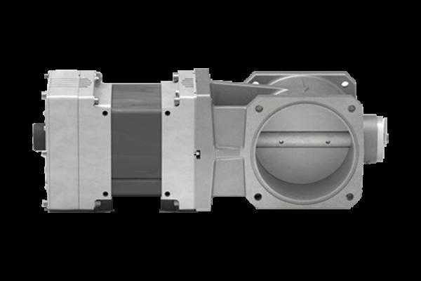 Woodward throttle valve